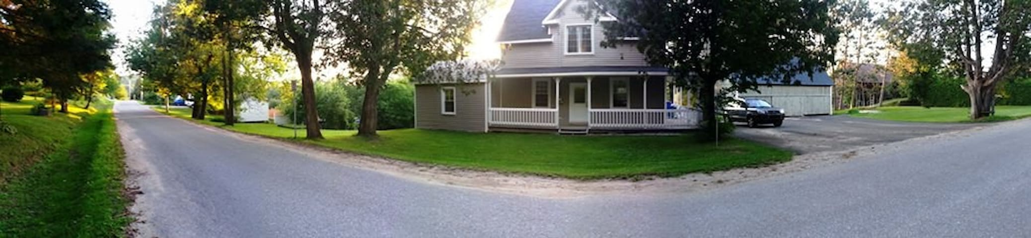 2 minutes from the Gatineau Park Lac Philippe area - Sainte-Cécile-de-Masham - Bed & Breakfast