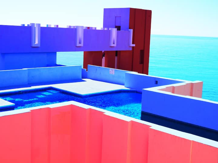 2bdr Seaview Apartment in La Muralla Roja,Calpe ES