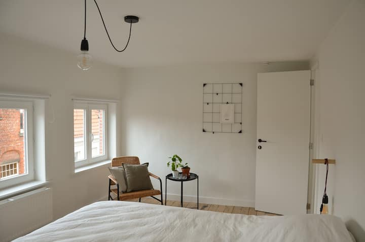 2 lovely bedrooms in centre of Bruges