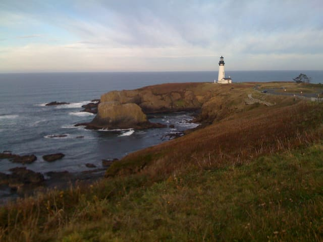 Yaquina Head Natural Outstanding Area - Roy's old workplace