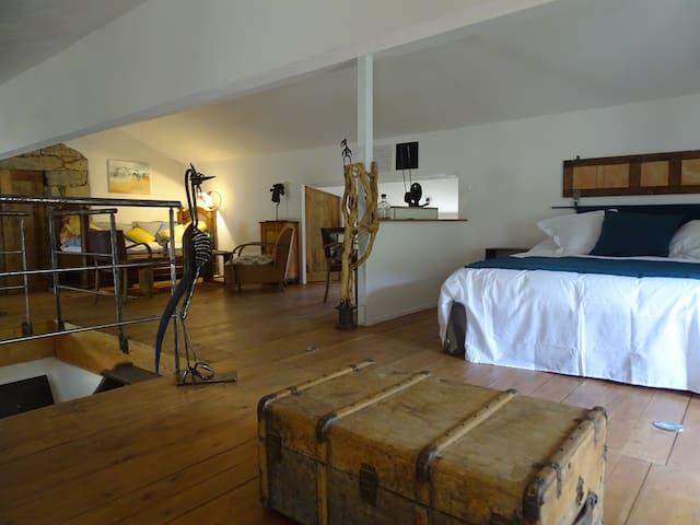 Chambre d'hôtes d'Altagène, charme et sculptures 1