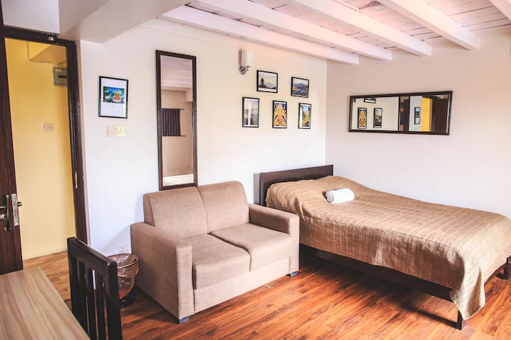 Deluxe Room with AC, Private Bathroom & Balcony