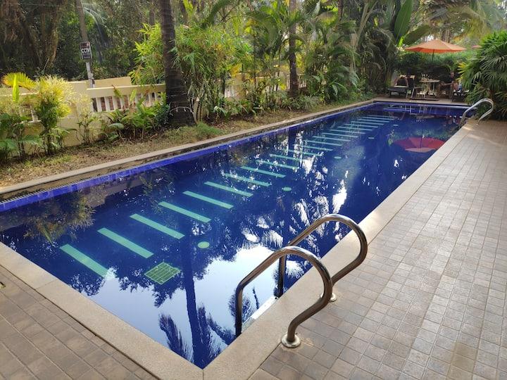 AC Suite room in Palolem, Goa