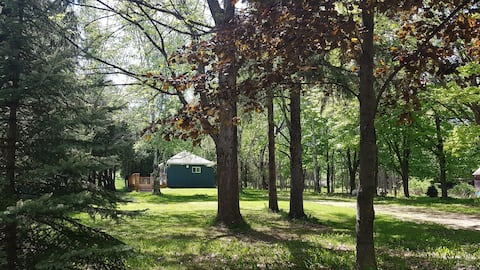 Cozy cottage house on 4 acres. Country setting.