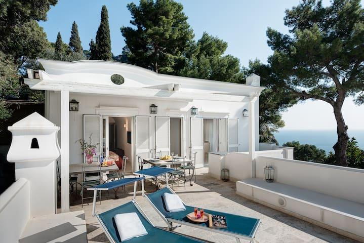 Fantastic villa with beautiful panoramic terrace