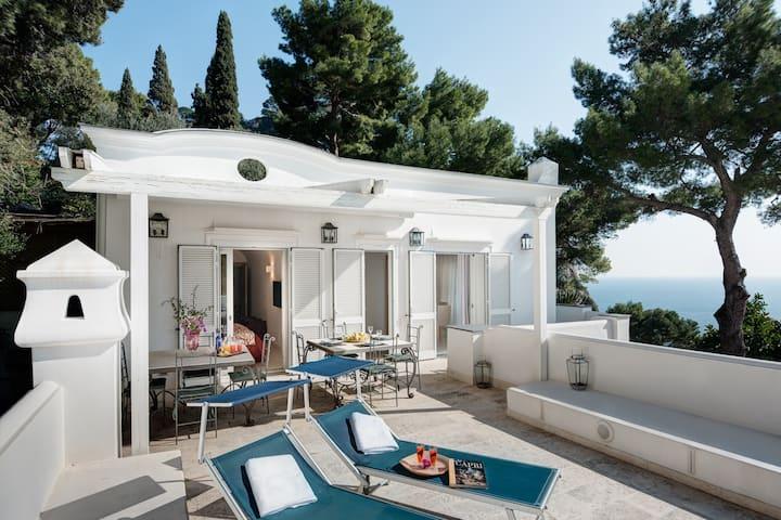 Fantastic villa with scenic terrace by Vacavilla