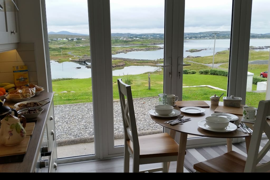 Serving a Sea View for Breakfast