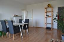 High rise flat with fantastic view of Munich&Alps