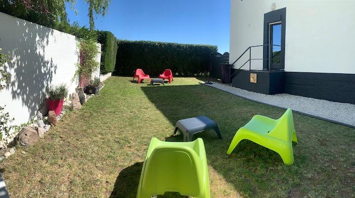 Maison 4* à  20mn  Lille  avec jardin et pkg privé