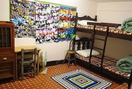 Bunk-bed twin room with shared bathroom - Gushan District - Bed & Breakfast