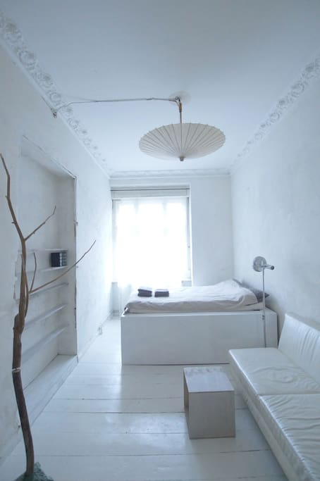 guest room / bed