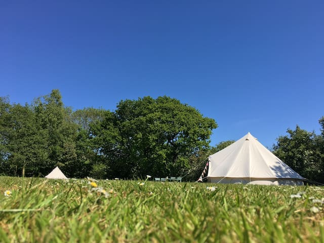 2posh2pitch Bell Tents  in North Norfolk.Tent No 3