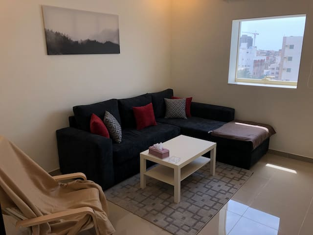 cozy,modern 1+1 ,near the airport&mall of arabia