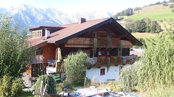 "Fantastic Apartment ""Steinernes Meer"" with Balcony, Mountain View & Wi-Fi; Parking Available"