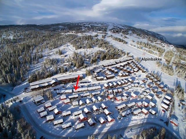 Ski in/ski out Norefjell Alpinlandsby