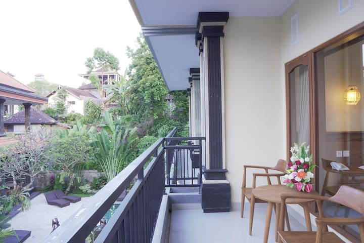 Budget Deluxe Room in Ubud Center FREE BREAKFAST