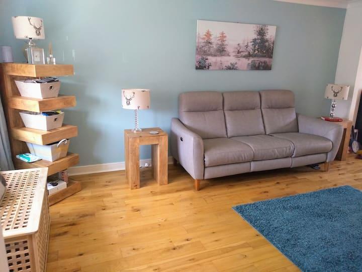 Ayrshire family home ideal for golf/Burns/Glasgow
