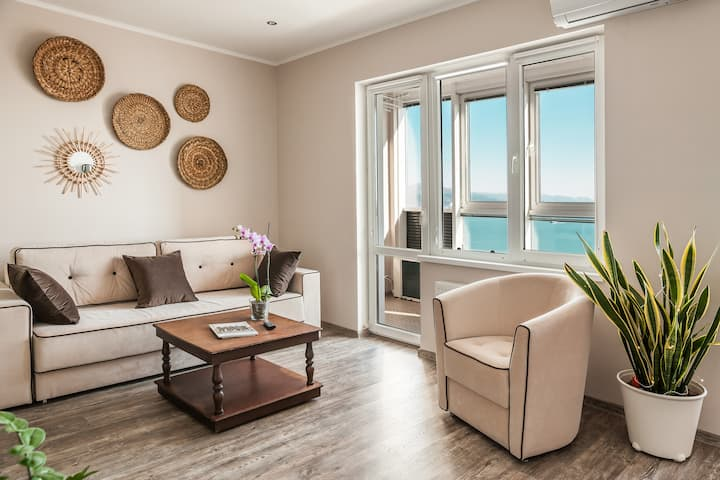 Апартаменты NOVOCITY Seaview Apartments