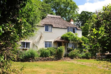 Pretty Thatched Cottage - Crowcombe, Taunton - บ้าน