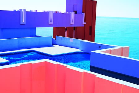 3bdr Seaview Apartment in La Muralla Roja,Calpe ES