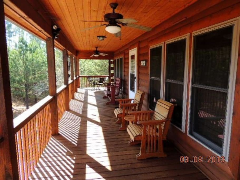 View of wrap around porch