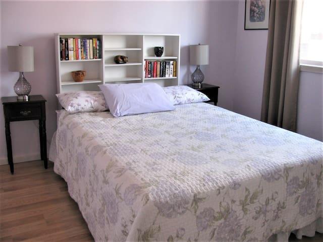 The Corner Apartment: (Suite A)