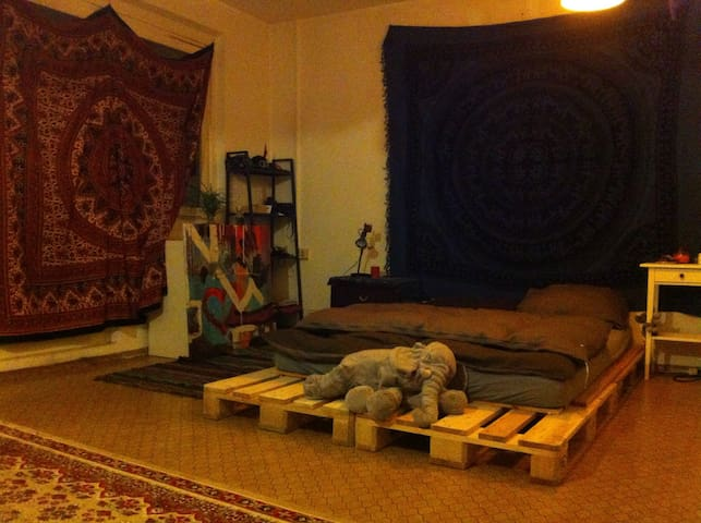 Spacious, homely room in the center - Berlín - Byt