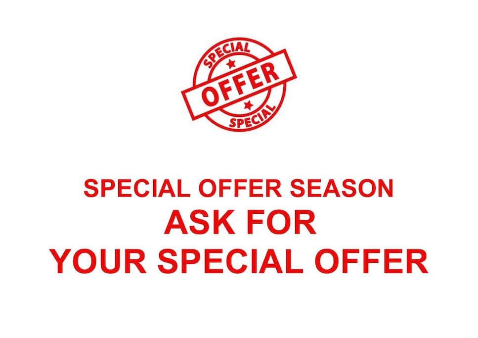 Ask for Your Special Offer