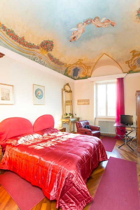 Camera matrimoniale letto unito
