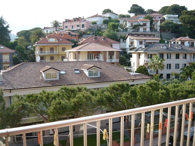 trilocale con 2 terrazzi al mare  - Andora - Byt