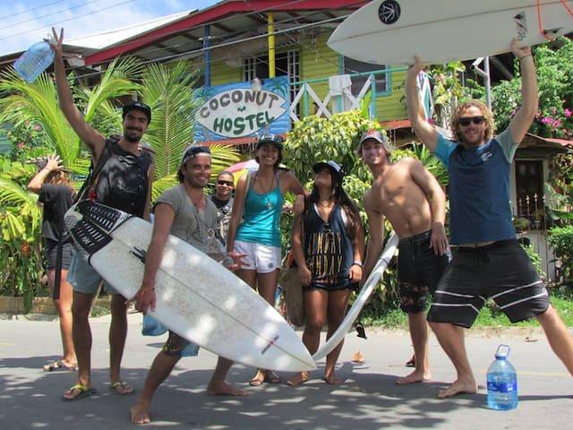 Coconut Hostel, Bocas del Toro - Colón Island - Penzion (B&B)