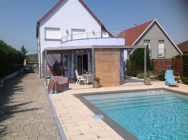 Gite du hohlandsbourg casas en alquiler en wintzenheim alsacia francia - Casas de alquiler en francia ...