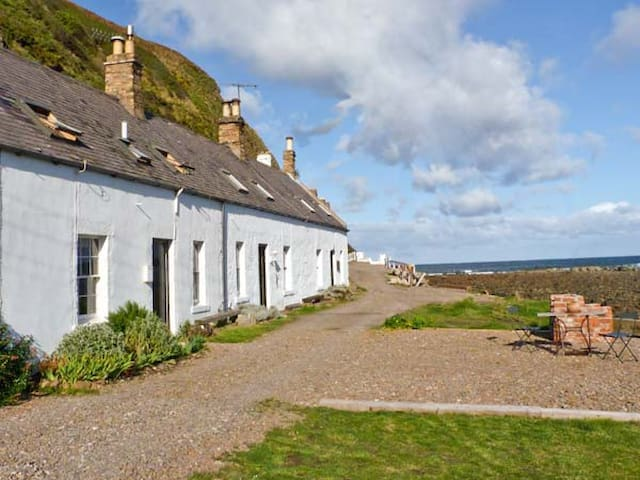 SHORESIDE COTTAGE, family friendly in Burnmouth, Ref 11232