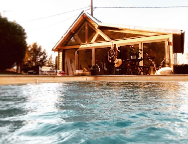 Le loft Normand avec piscine chauffée
