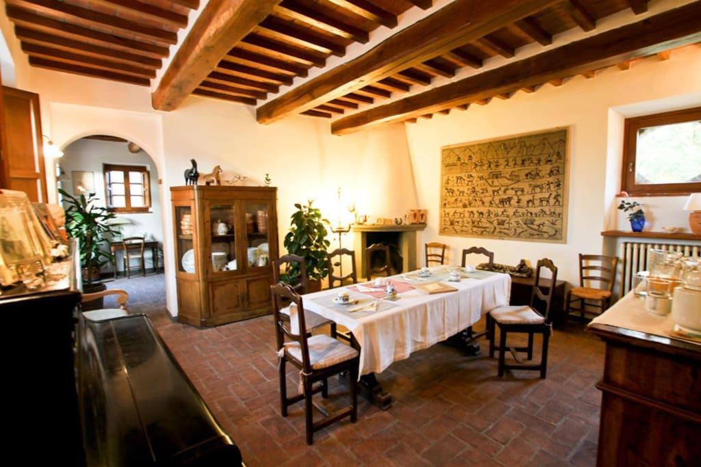 Sala colazioni o cene - breakfast or dinner saloon
