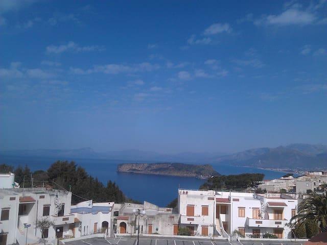 Panoramic sea&mountains view flat - San Nicola Arcella - Apartment