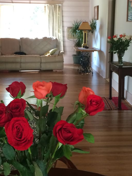 Roses to celebrate