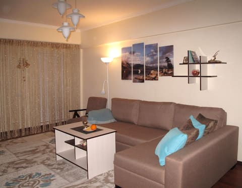 Studio-apartment near the Heydar Aliyev center
