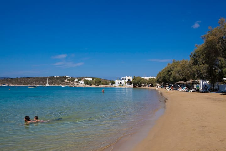 Two-Bedroom Apartment with Sea View - Paros - Daire