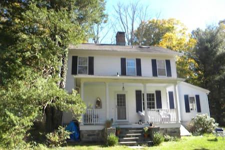 Romantic, Riverfront Farm House