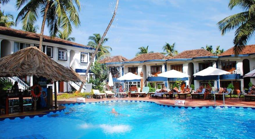 Beach Resort Apartment,Candolim,Br. - Candolim - Daire