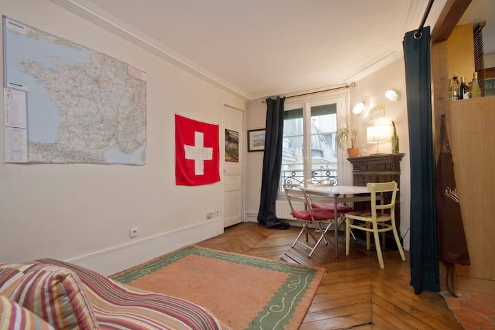 Cozy Apt. in the heart of Paris - Paris - Flat