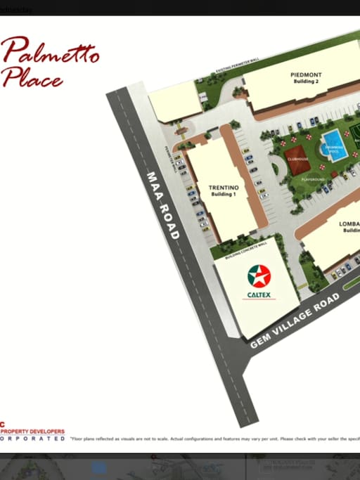 We are near Mall, and we are accessible from airport.