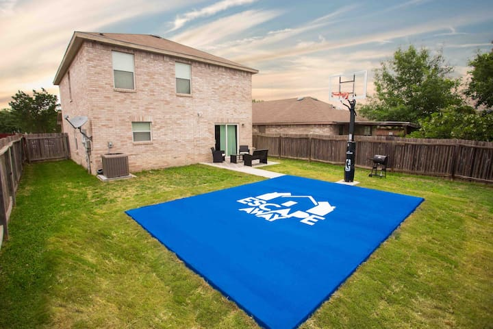 NEW! LACKLAND/Seaworld BASKETBALL COURT|POOL TABLE