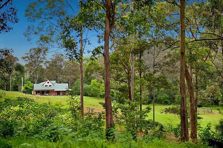 Organic farm stay in Jilliby