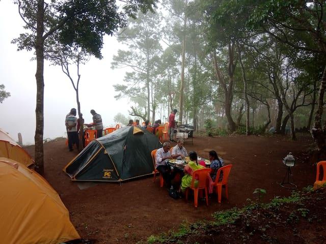 Munnar Camping- Munnar Iwa