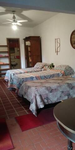 Habitación N°2 con sus camas
