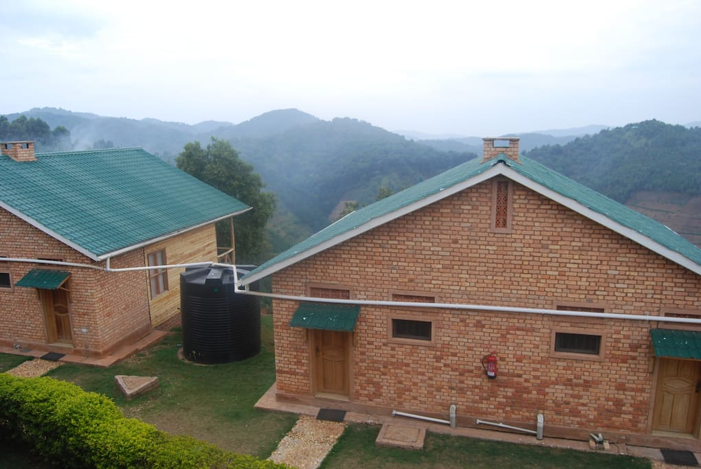 The lodge is widely regarded as one of the most beautiful, hospitable, and comfortable lodges to stay in before visiting one of Uganda's premier safari attractions -  the gorillas.  Our lodge offers a beautiful view of the mountains.
