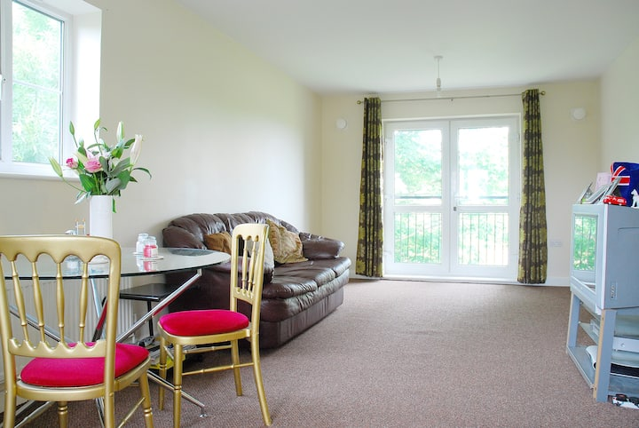 Large, clean and comfortable private double room