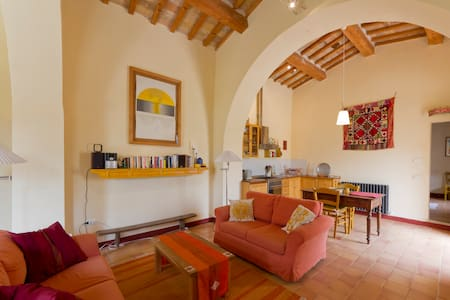 Converted chapel for two in Marche - Cagli - Квартира